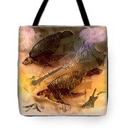 Turtles Play Yard Tote Bag
