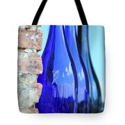 Tuscan Blue Reflections Tote Bag