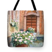 Tuscan Courtyard Tote Bag