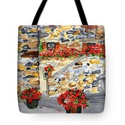 Tuscan Courtyard I Tote Bag