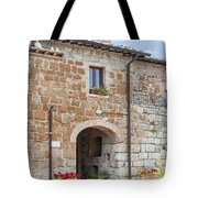 Tuscan Old Stone Building Tote Bag