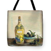 Tuscan Olive Oil  Tote Bag