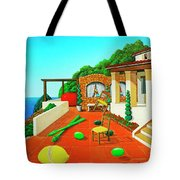 Tuscan Vacation Tote Bag