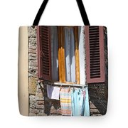 Tuscan Window And Laundry Tote Bag