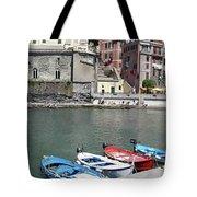 Tuscany Boats Tote Bag