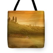Tuscany In Golden Tote Bag