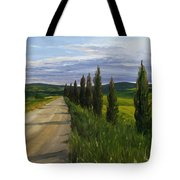Tuscany Road Tote Bag by Jay Johnson