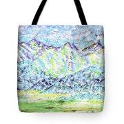 Tusheti Hay Meadows Caucasus Mountains I Tote Bag