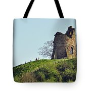 Tutbury Castle Ruins Tote Bag