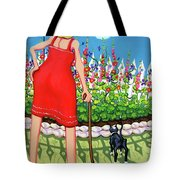 Tuxedo Cat - Edens Garden Tote Bag