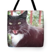 Can You Hear Me Meow? Tote Bag