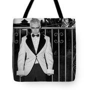 Tuxedo Vampire Tote Bag