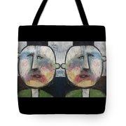 Tweedledee And Tweedledum Tote Bag