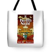 Twelfth Night Poster Tote Bag