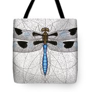 Twelve Spotted Skimmer Tote Bag by Charles Harden