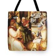 Twelve Year Old Jesus In The Temple 1497 Tote Bag