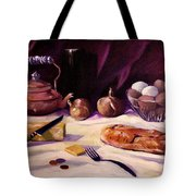 Twenty Seven Cents And Bread Tote Bag