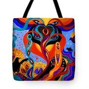 Karmic Lovers Tote Bag