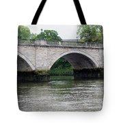 Twickenham Bridge Spans The Thames Tote Bag