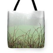 Twigs In Mist Tote Bag