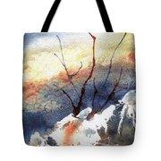 Twigs-n-ice Tote Bag