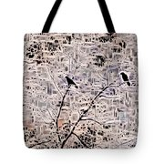 Twilight Arrives On Raven Wings Tote Bag