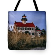 Twilight At East Point Tote Bag