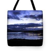 Twilight At Loch Bracadale Tote Bag