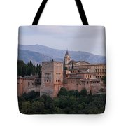 Twilight At The Alhambra Tote Bag