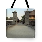 Twilight At The City Gates Tote Bag
