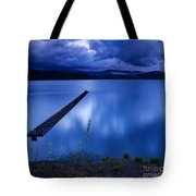 Twilight Blue Tote Bag