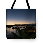 Twilight Cruz Bay Tote Bag