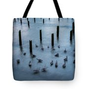 Twilight Geese Tote Bag