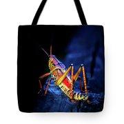 Twilight Grasshopper Tote Bag