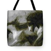 Twilight In Mescalero Tote Bag