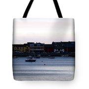 Twilight In The Harbor At Skerries Tote Bag