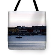 Twilight In The Harbor At Skerries Tote Bag
