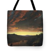 Twilight In The Wilderness Tote Bag