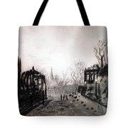 Twilight Landscape 1880 Alexey Kondratievich Savrasov Tote Bag