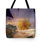 Twilight Lily Tote Bag