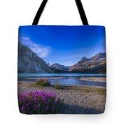 Twilight On Bow Lake, Banff National Tote Bag