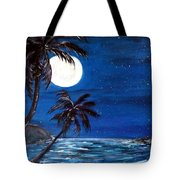 Twilight On The Bay Tote Bag