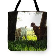 Twilight On The Farm Tote Bag