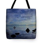 Twilight Paddle  Tote Bag