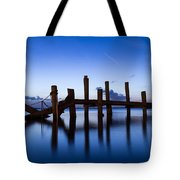 Twilight Piers Tote Bag