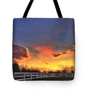 Twilight Sunset Tote Bag