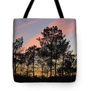 Twilight Tree Silhouettes Tote Bag