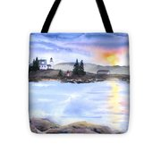Twilight Welcome Tote Bag
