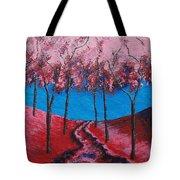 Twilight Woods Tote Bag