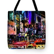 Twilight Zone Hustle Bustle Tote Bag